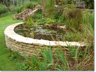 Ponds And Water Features Garden Design Gloucestershire