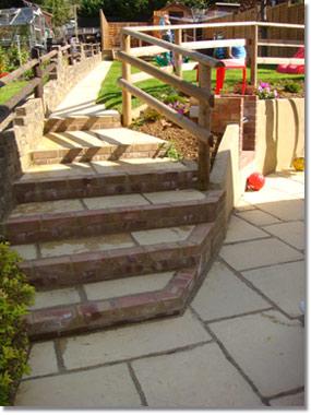 Steps Garden Design Bristol Stroud Gloucester